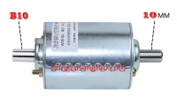 Motor 24V dual shaft cốt 10mm - B10