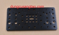 Double C-Beam Plate T6x77.15x155